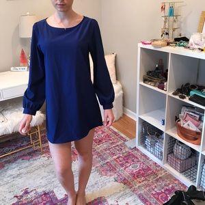 Dresses & Skirts - Everly Royal Blue Quarter Sleeve Dress